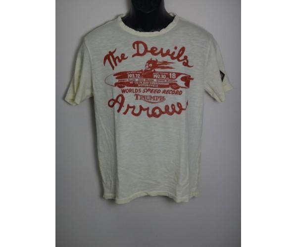 T Shirt Johnson Motors Devil 39 S Arrow Triumph